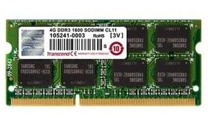 Transcend 4GB / 1333MHz / DDR3L / CL9 / SO-DIMM / 1.35V