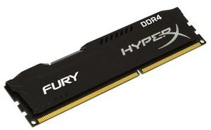HyperX Fury 8GB DDR4 2400MHz / CL15 / DIMM / Non-ECC / Un-Registered / 1.2V