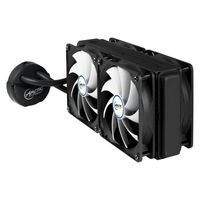 ARCTIC Liquid Freezer 240 / 4x 120 mm / Fluid Dynamic Bearing / 0.3 Sone @ 1350 RPM / Intel + AMD