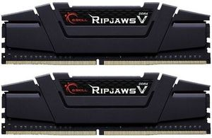 G.Skill Ripjaws V Black 32GB (KIT 2x 16GB) / 3200MHz / DDR4 / 16-18-18-38 / 1.35V