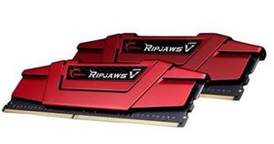 G.Skill Ripjaws V Red 8GB (2x 4GB) / DDR4 / 2133MHz / 15-15-15-35 / výprodej
