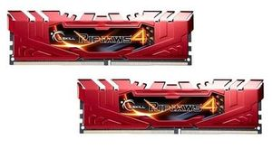 G.Skill Ripjaws4 Red 8GB (2x 4GB) / DDR4 / 2666MHz / 15-15-15-35