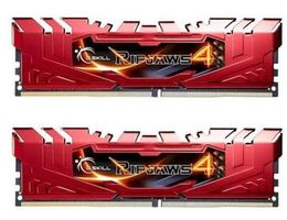 G.Skill Ripjaws4 Red 8GB (2x 4GB) / DDR4 / 2800MHz / 16-16-16-36 / výprodej