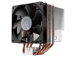Cooler Master Hyper 612 / 120 mm / Rifle Bearing / 20 dB @ 1300 RPM / 44.2 CFM / Intel + AMD
