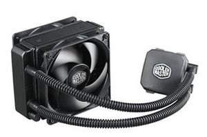 Cooler Master Nepton 120XL / 2x 120 mm / Loop Dynamic Bearing / 27 dB @ 2400 RPM / 76 CFM / Intel + AMD