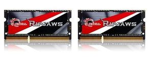 G.Skill Ripjaws Series 8GB / KIT 2x4GB / SO-DIMM / DDR3 / 1600MHz / 11-11-11-28 / 1.35V