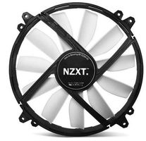 NZXT FZ 200 / 200mm / Sleeve Bearing / 25dB @ 700RPM / 103CFM / 3-pin