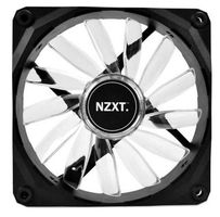 NZXT FZ 120 LED Red / 120mm / Long Life Bearing / 26.8dB @ 1200RPM / 59.1CFM / 3-pin