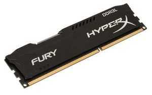 HyperX Fury 8GB DDR3L 1600MHz / 1x 8GB KIT / CL10 / 1,35 V / DIMM
