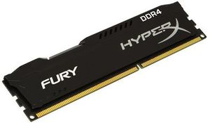 HyperX Fury 4GB DDR4 2400MHz / CL15 / DIMM / Non-ECC / Un-Registered / 1.2V