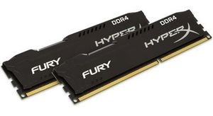 HyperX Fury 16GB DDR4 2400MHz / CL15 / DIMM / Non-ECC / Un-Registered / 1.2V
