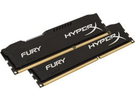 HyperX Fury 16GB DDR4 2666MHz / CL15 / DIMM / Non-ECC / Un-Registered / 1.2V