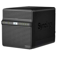 Synology DiskStation DS416j / 4x HDD / Marvell DC @1.3GHz / 512MB RAM / 1x USB 3.0 / USB 2.0 / SATA III / 1x GLAN