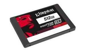 "Kingston SSDNow KC400 512GB / SSD / 2.5"" / SATA III / W: 550MB/s / R: 530MB/s / Interní"