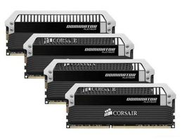 Corsair DOMINATOR Platinum 32GB / 4x8GB / DDR3 / 1600MHz / PC3-12800 / CL9-9-9-24 / 1.5V / XMP 1.3  / s chladičem