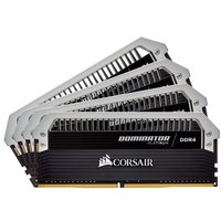 Corsair Dominator 64GB / 4x16GB / DDR4 / 2666MHz / PC4-21300 / CL15-17-17-35 / 1.2V / XMP2.0 / s chladičem
