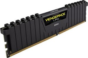 Corsair Vengeance LPX Black 16GB / DDR4 /  3000MHz / PC4-24000 / CL15-17-17-35 / 1.35V / XMP2.0 / s chladičem