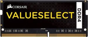 Corsair VALUE SELECT 16GB / SO-DIMM / DDR4 / PC4-17000 / 2133MHz / CL15-15-15-36 / 1.2V