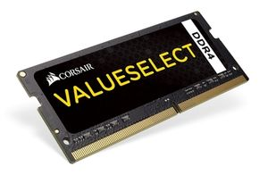 Corsair VALUE SELECT 4GB / SO-DIMM / DDR4 / PC4-17000 / 2133MHz / CL15-15-15-36 / 1.2V