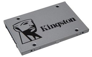 "Kingston SSDnow UV400 240GB / SSD / 2.5"" / SATA III / TLC / R: 550MBs /  W: 490MBs / Interní"