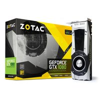 ZOTAC GeForce GTX 1080 Founders Edition / 1607-1733MHz / 8GB D5X 10GHz / 256-bit / DVI, HDMI, 3x DP / 225W (8)