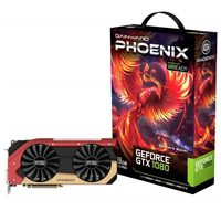 Gainward GeForce GTX 1080 Phoenix / 1607-1733MHz / 8GB D5X 10GHz / 256-bit / DVI, HDMI, 3x DP / 300W (8+6)
