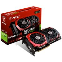 MSI GeForce GTX 1080 GAMING X 8G / 1607-1847MHz / 8GB D5X 10.1GHz / 256-bit / DVI, HDMI, 3x DP / 300W (8+6)
