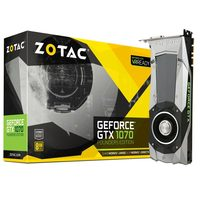 ZOTAC GeForce GTX 1070 Founders Edition / 1506-1683MHz / 8GB D5 8GHz / 256-bit / DVI, HDMI, 3x DP / 225W (8)