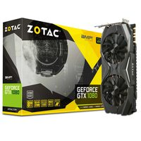 ZOTAC GeForce GTX 1080 AMP Edition / 1683-1822MHz / 8GB D5X 10GHz / 256-bit / DVI, HDMI, 3x DP / 225W (8)