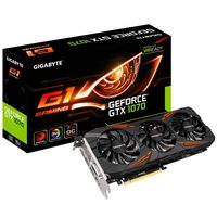 GIGABYTE GV-N1070G1 GAMING-8GD / 1594-1822MHz / 8GB D5 8GHz / 256-bit / DVI, HDMI, 3x DP / 225W (8)