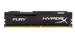 HyperX Fury 8GB DDR4 2133MHz / CL14 / DIMM / Non-ECC / Un-Registered / 1.2V