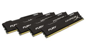 HyperX Fury 32GB DDR4 2133MHz / CL14 / DIMM / Non-ECC / Un-Registered / 1.2V