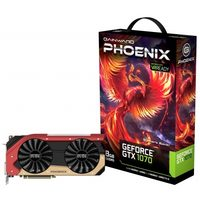 Gainward GeForce GTX 1070 Phoenix / 1506-1683MHz / 8GB D5 8GHz / 256-bit / DVI, HDMI, 3x DP / 225W (8)
