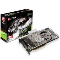 MSI GeForce GTX 1080 SEA HAWK EK X / 1607-1847MHz / 8GB D5X 10.1GHz / 256-bit / DVI, HDMI, 3x DP / 300W (8+6)
