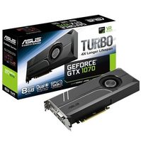 ASUS TURBO-GTX1070-8G / 1506-1683MHz / 8GB D5 8GHz / 256-bit / DVI, 2x HDMI, 2x DP / 225W (8)