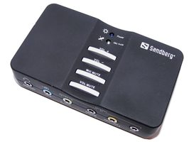 Sandberg USB Sound Box 7.1 / USB 2.0