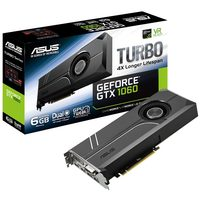 ASUS TURBO-GTX1060-6G / 1506-1708MHz / 6GB D5 8GHz / 192-bit / DVI, 2x HDMI, 2x DP / 150W (6)