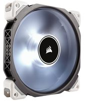 Corsair ML140 PRO LED White / 140mm / Magnetic Levitation Bearing / 37dB @ 2000RPM / 165m3h / 3mm H2O / 0.202A / 4-pin