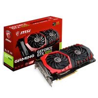 MSI GeForce GTX 1060 GAMING 6G / 1506-1746MHz / 6GB D5 8GHz / 192-bit / DVI, HDMI, 3x DP / 225W (8)
