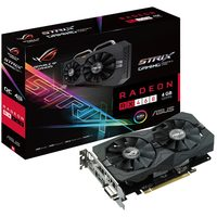 ASUS STRIX-RX460-O4G-GAMING / 1236-1256MHz / 4GB D5 7GHz / 128-bit / DVI + HDMI + DP / 150W (6)