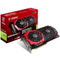 MSI GeForce GTX 1060 GAMING X 3G / 1506-1809MHz / 3GB D5 8.1GHz / 192-bit / DVI, HDMI, 3x DP / 225W (8)