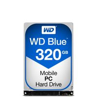 "WD Blue 320GB / HDD / 2.5"" SATA III / 5 400 rpm / 16MB cache / 7mm / 2y"