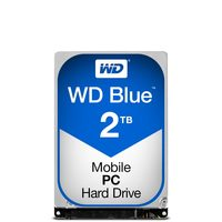 "WD Blue 2TB / HDD / 2.5"" SATA III / 5 400 rpm / 8MB cache / 15mm / 2y"