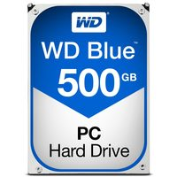 "WD Blue 500GB / HDD / 3.5"" SATA III / 5 400 rpm / 64MB cache / 2y"