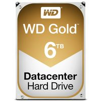 "WD Gold 6TB / HDD / 3.5"" SATA III / 7 200 rpm / 128MB cache / 5y"