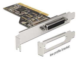 DeLock PCI Karta > 1 x Paralelní + Low profile