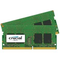 Crucial 8GB (2x4GB) / DDR4 / SO-DIMM / 2400MHz / PC4-19200 / CL17 / 1.2V / Single Ranked x8