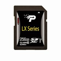 Patriot LX 256GB Secure Digital SDXC / Class 10
