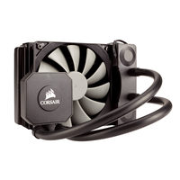 Corsair Hydro H45 / 120 mm / 31 dB @ 2300 RPM / 94 CFM / Intel + AMD