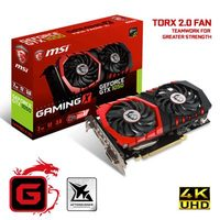 MSI GeForce GTX 1050 GAMING 2G / 1354-1493MHz / 2GB D5 7GHz / 128-bit / DVI, HDMI, DP / 150W (6)